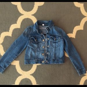 Girls Gap Jean Jacket Size M
